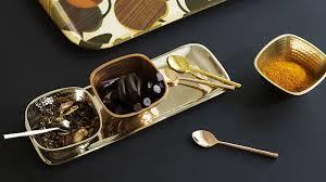 mixed metals pinch pot u0026 tray set all oliver bonas