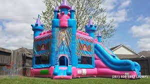 bounce house rentals houston princess castle moonwalk houston sky high party rentals