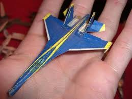 3d paper model airplanes print outs blue angel micro paper airplane that can actually fly youtube