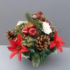 Fake Flower Arrangements Artificial Flower Wedding Decorations Hanging Baskets Grave Pots