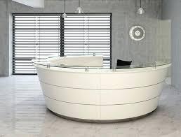 Exhibition Reception Desk Reception Area Coffee Table High Quality Semi Circle Half Round