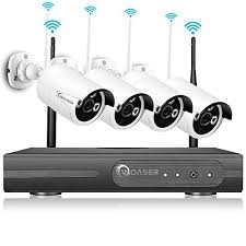 woaser wireless hd outdoor home security kit surveillance