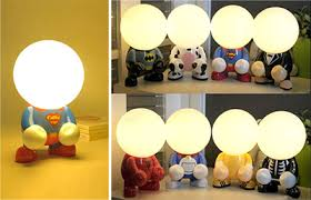 Kids Lamps Childrens Bedside Lighting Nursery Table Lamp  Baby - Lights for kids room