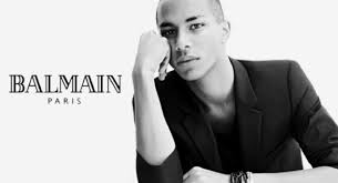 balmain designer style news balmain s olivier rousteing says instagram helped the