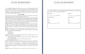 Business Letter Format For Loan 8 Loan Agreement Sample Service Letters