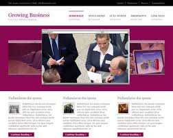 free templates for business websites growing business website template free website templates os