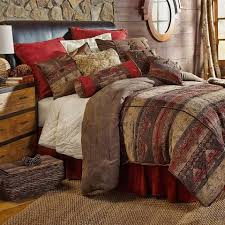 rustic country western comforter sets retro barn country linens