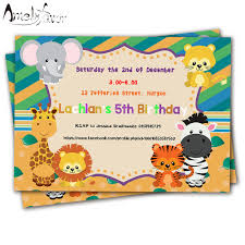 2nd Birthday Invitation Card Animated Birthday Invitations Promotion Shop For Promotional