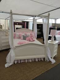 megan canopy bedroom collection kids alley factory direct custom kids alley megan collection full size canopy bed white