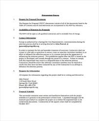 17 construction project proposal templates free sample example