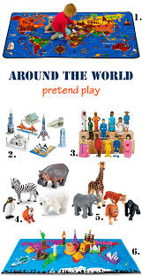 around the world activity for learn about what makes each