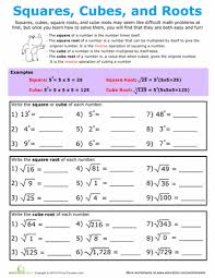 interactive notes practice and worksheet for approximating square