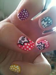picture 3 of 11 simple nail art designs for short nails at home