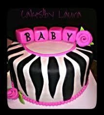 zebra print baby shower cake made by me pinterest zebras