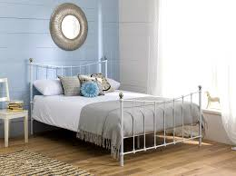Paint Metal Bed Frame Uncategorized Fascinating White Iron Bed Astounding Bed Frames