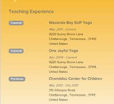 Examples Of Current Resumes by Download Yoga Resume Haadyaooverbayresort Com