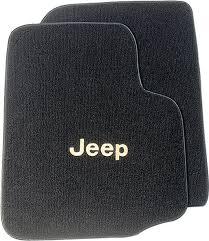 jeep wrangler mats auto custom carpets jeep custom front floor mats for 97 06 jeep