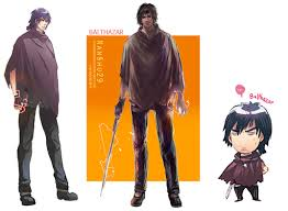 balthazar anime color vs cg color vs chibi by nanshu29 on deviantart