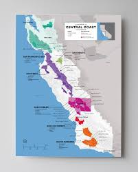 Sonoma California Map Updated Wine Maps Of The World Wine Folly