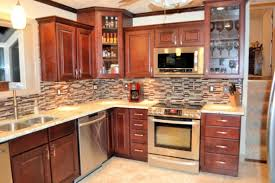 Stainlesssteelswingfaucetwoodenpolishkitchencabinetblock - Kitchen cabinet varnish