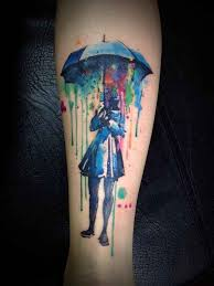 cool colorful tattoo designs best 25 watercolor tattoos ideas on