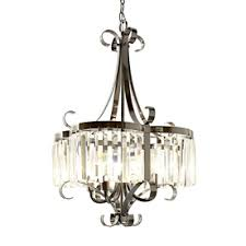 style selections 4 light black chrome chandelier lowes 179 nice