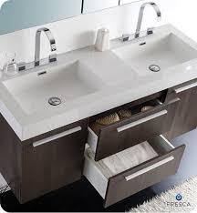 Graceful Modern Bathroom Double Sinks - Designer sinks bathroom