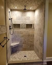 custom walk in showers walk in showers oakmoore tile