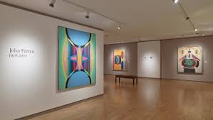 elusive painter who predicted minimalism in mid 1950s