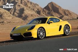 porsche dubai auto trader uae news yellow fever u2013 porsche cayman gts