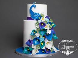 Peacock Themed Wedding Peacock Themed Wedding Cake 20 Cakes Cakesdecor