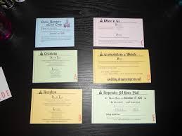 diy vintage disneyland ticket book wedding invitations this