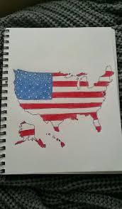 Waving Flag Artist Best 25 Flag Drawing Ideas On Pinterest American Flag Painting