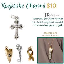 keepsake charms jk by thirty one keepsake charms 31 jk jk by thirty one