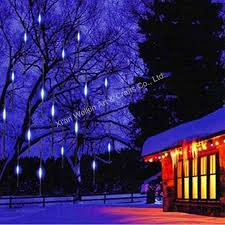 led meteor shower light outdoor meteor snow shower