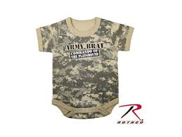 Army Halloween Costumes Infant Army Brat Acu Camo 1 Piece Infant Baby Halloween Costume