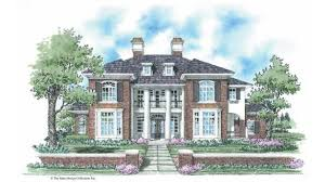 neoclassical homes home plan homepw09203 3501 square foot 4 bedroom 4 bathroom