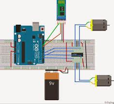 arduino waveform generator wiring diagram components