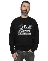 disney s story pizza planet logo sweatshirt x large ebay