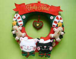 79 best guirlandas images on pinterest christmas crafts