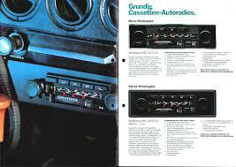 si e auto age grundig autoradio programm 1979 80