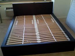 Platform Bed Frame With Headboard Bed Frames Queen Size Platform Bed With Storage Brimnes Ikea