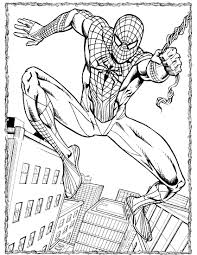 download spiderman coloring pages 2