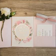 pink wedding invitations pink and gold wedding invitations marialonghi