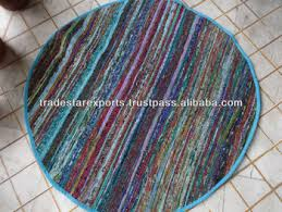 Hand Loomed Rug Hand Loomed Rag Rug Handmade Rug From Vintage Saris Buy Washable