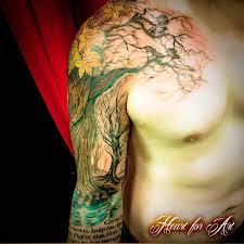 tree root sleeve search tattoos