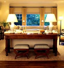 Ikea Console Table Behind Sofa Bedroom Entrancing Finding Space Our New Console Table Behind