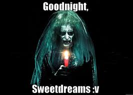 Creepy Halloween Poem Good Night With Scary Dreams Quotes Pinterest Scary Faces