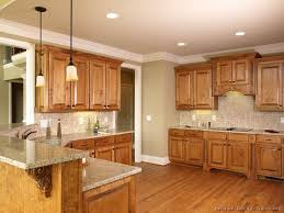 Popular Kitchen Colors With Oak Cabinets by Contemporary Kitchen Color Ideas With Oak Cabinets And Black