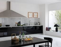 how to clean black gloss kitchen cupboards 80 black kitchen cabinets the most creative designs